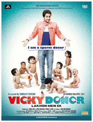 Watch Vicky Donor 2012 Hollywood Movie Online | Vicky Donor 2012 Hollywood Movie Poster