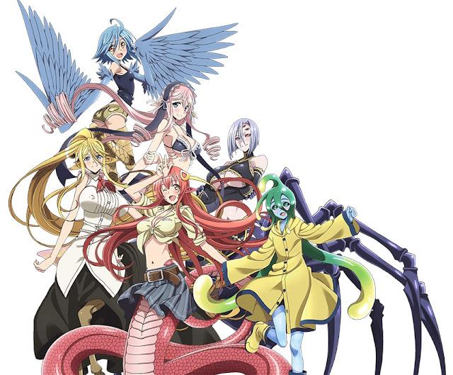 Monster Musume no Iru Nichijou reparto