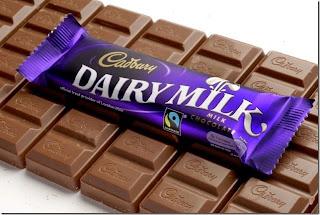 Bertelingkah kerana coklat Cadbury