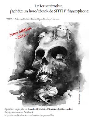 le 1er septembre j'achète un livre ebook de SFFFH francophone