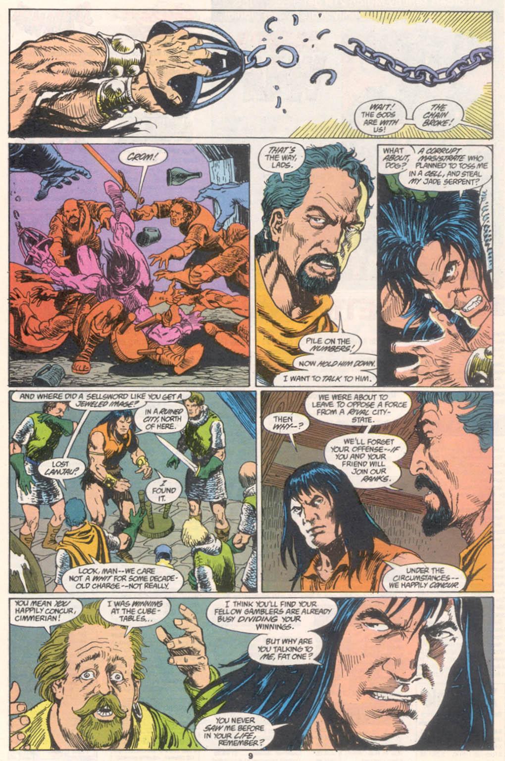 Conan the Barbarian (1970) Issue #255 #267 - English 8