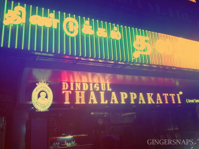 Chennai Biryani Dindigul Thalappakatti