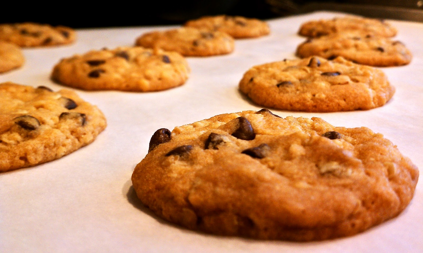 "Ultrathin Chocolate Chunk Cookies"" by Alice Medrich 