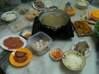 CNY Reunion dinner