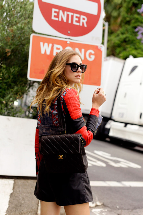 The Blonde Salad Chanel Backpack Street Style