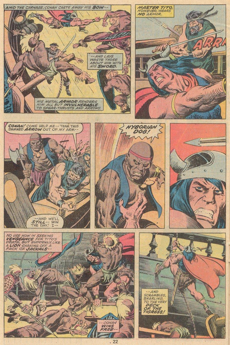 Conan the Barbarian (1970) Issue #58 #70 - English 15