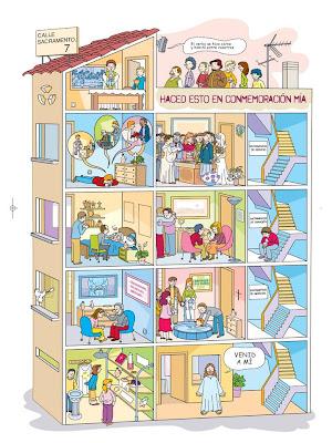 Tallita y las clases de religi n el mural de los sacramentos - Giochi di decorazione della casa ...