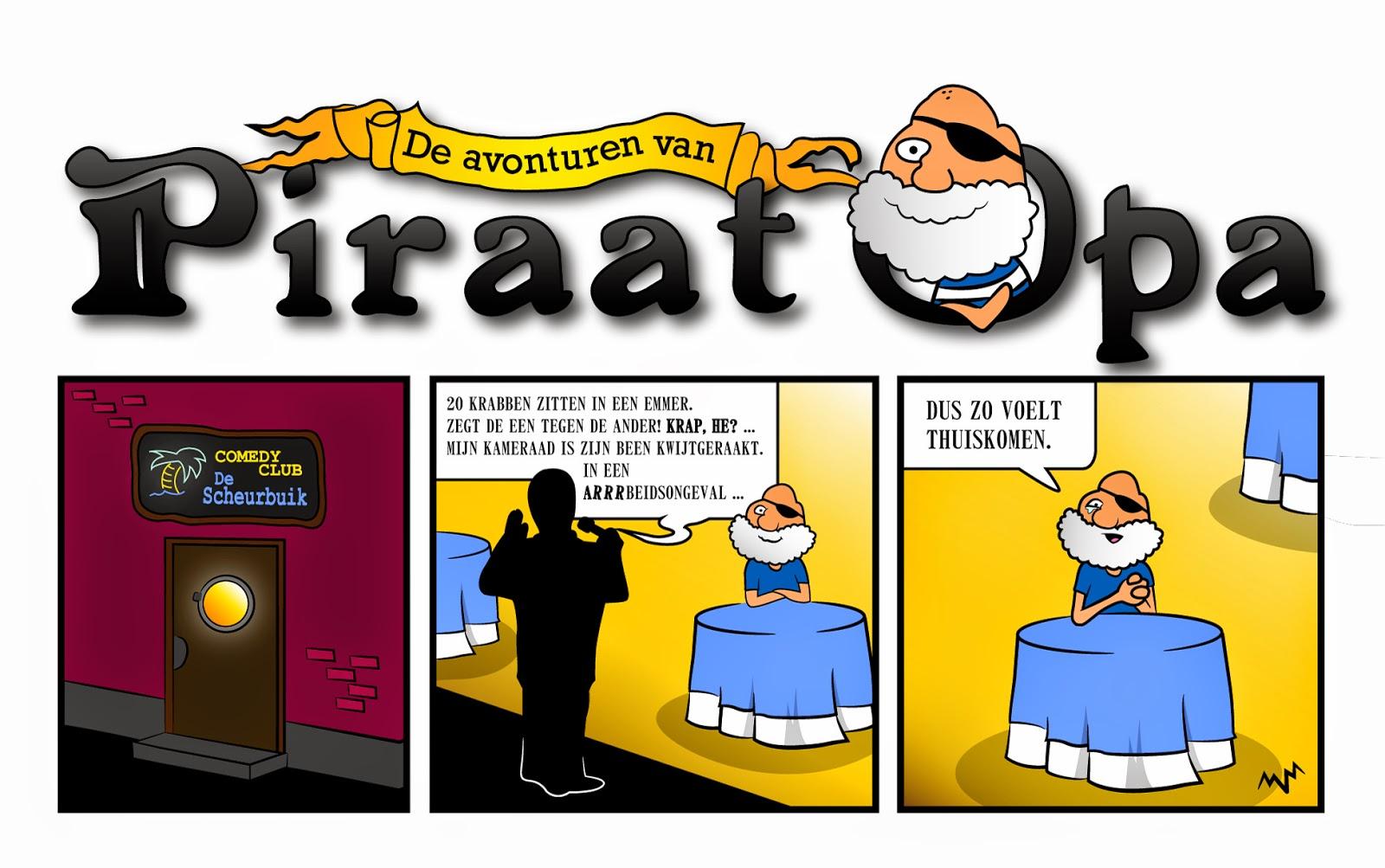 """De Avonturen van Piraat Opa - """"Scheurbuik"""""""