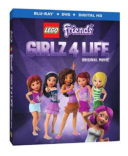 Lego Friends Girlz 4 Life Bluray