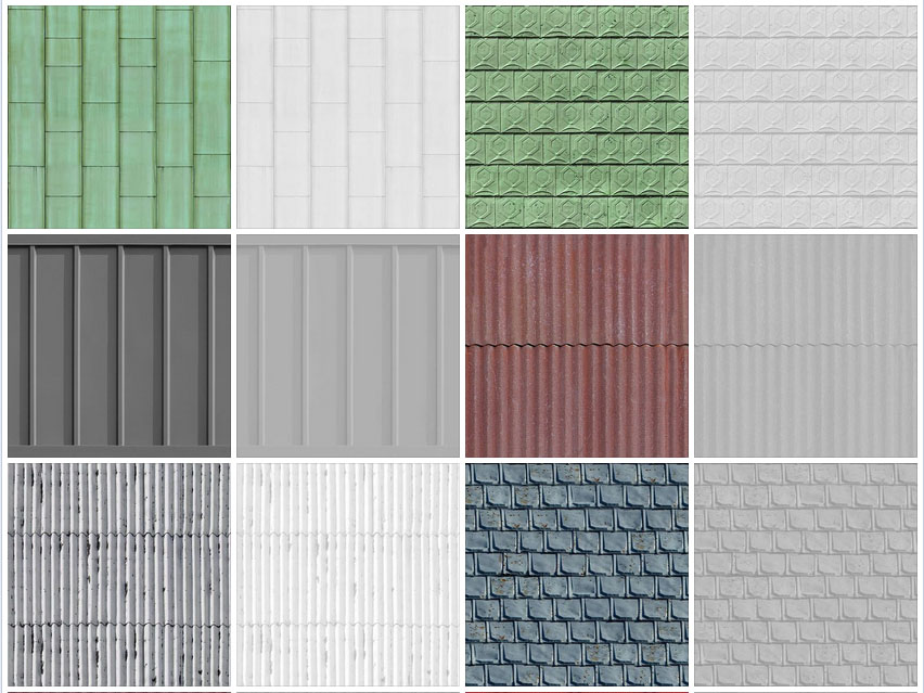 Metal Roof Texture Seamless Seamless Metal Roofing 2