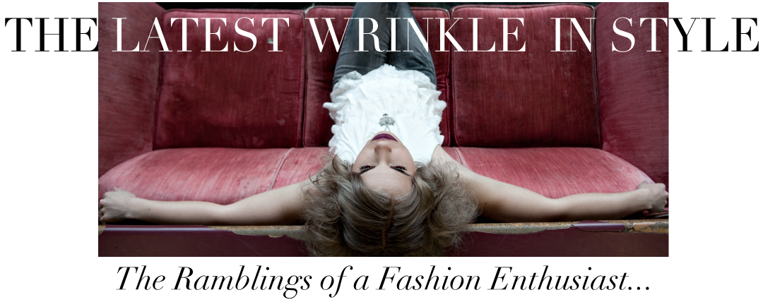 THE LATEST WRINKLE IN STYLE