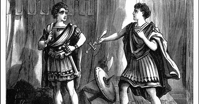 What were Brutus's and Cassius's motives for killing Caesar?