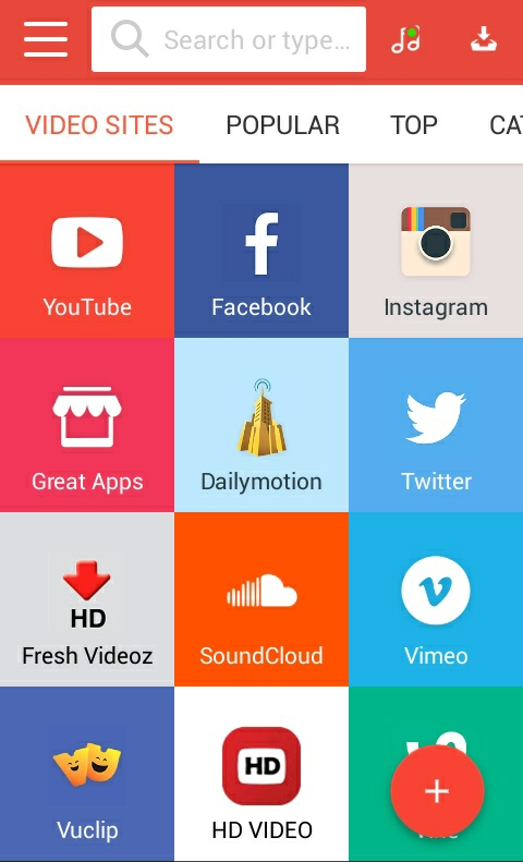 How to download facebook youtube twitter and instagram videos now to get started with this app you will have to download and install it here15mb after installation just lunch the app and visit eg youtube or any ccuart Gallery