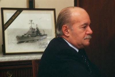 Comandante Héctor Elías Bonzo † - ARA General Belgrano