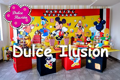 Dulce ilusi n shows infantiles y decoraci n de fiestas for Decoracion la casa de mickey mouse