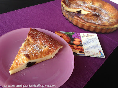Far Breton - Tarta cu prune uscate