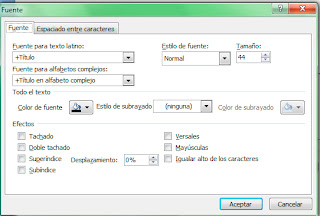 Cuadro dialogo Powerpoint 2007