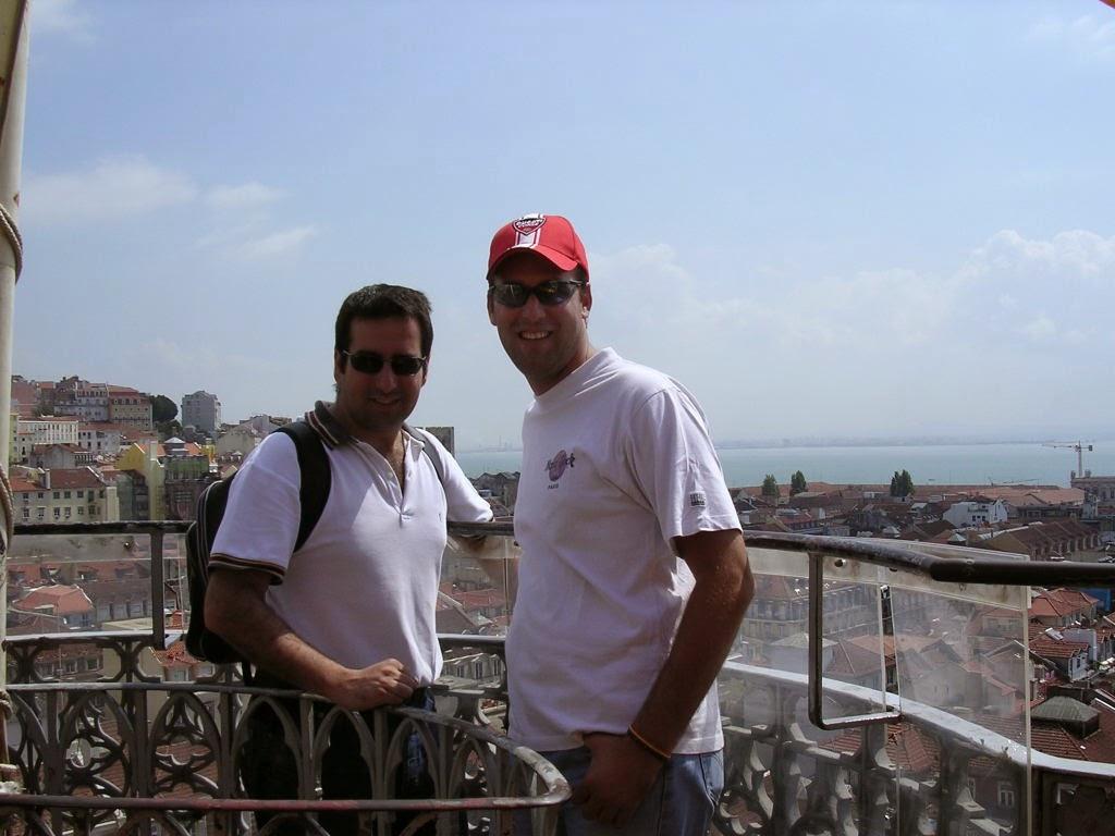 vistas desde lo alto de Lisboa