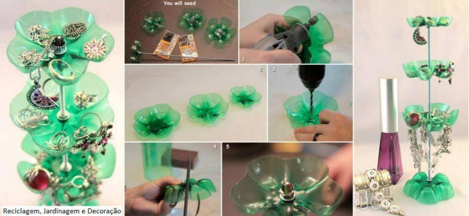 Поделки для дома из пластиковой бутылки сделай сам