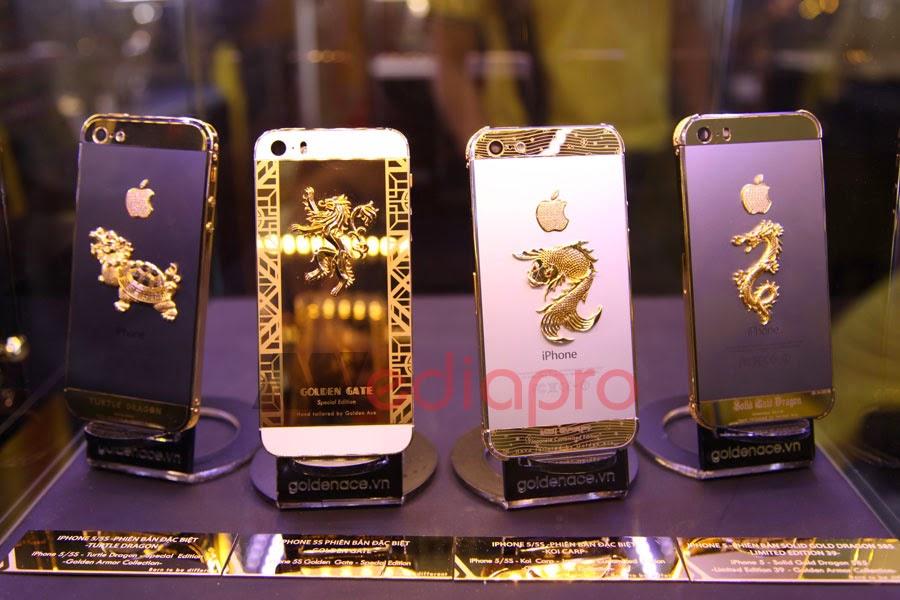 Điện thoại Iphone mạ vàng tại Media Pro