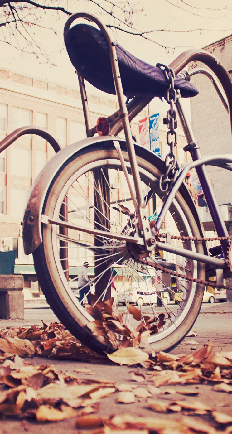 Bicycle background for Iphone 5, 5S & 5C