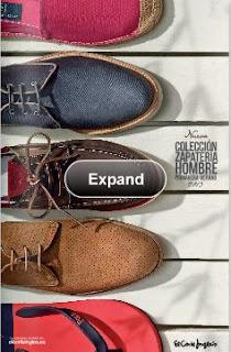 zapatos el corte ingles PV 2013