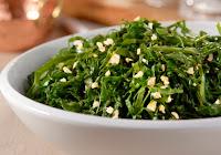 Salada Morna de Couve (vegana)