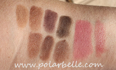 palette, blush, eyeshadow, Ulta, swatches