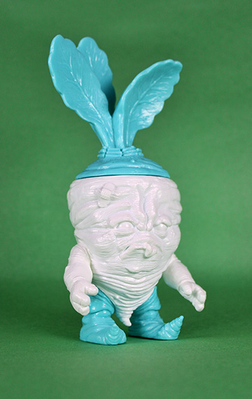The Smurfs x Scott Tolleson Mixed Parts Deadbeet Vinyl Figures – Undead Shmurfy Beet