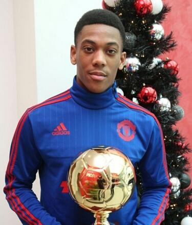 Golden Boy 2015 é conquistado por Martial.