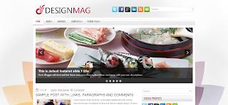 DesignMag Blogger Template is a elegant stiyle premium template