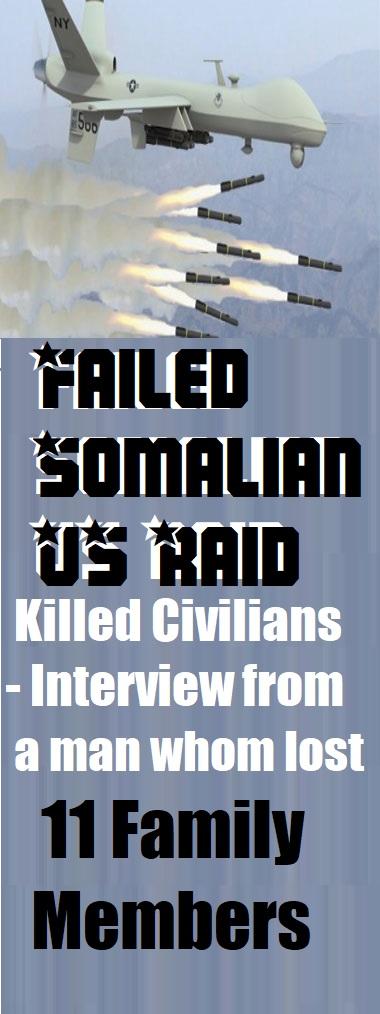 Failed Somalian US Raid