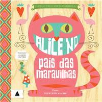 Livro - O Pequeno Lewis Carroll - Alice no País das Maravilhas