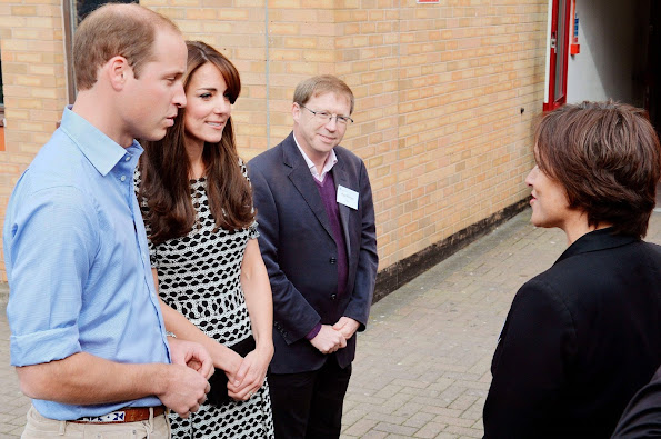 Kate Middleton and Prince William visited Harrow College for World Mental Health Day