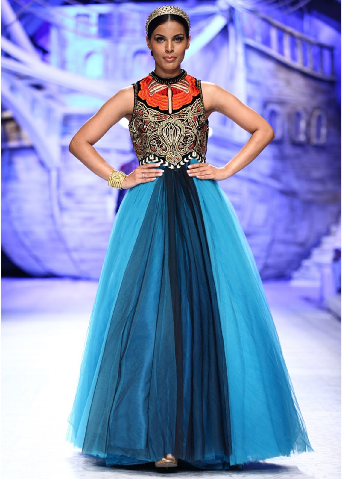 JJ Valaya at India Bridal Fashion Week 2013 - Vega Fashion Mom