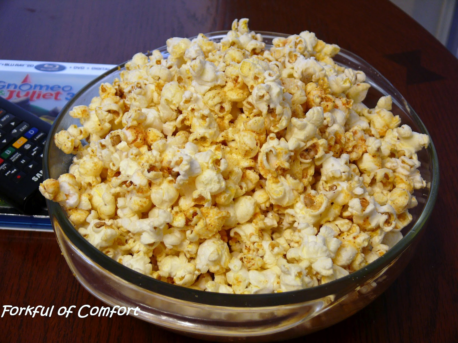 Forkful of Comfort: Cajun Popcorn
