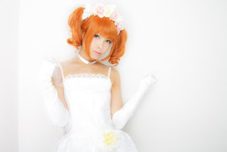 Uri Cosplay as Takatsuki Yayoi from The Idolmaster