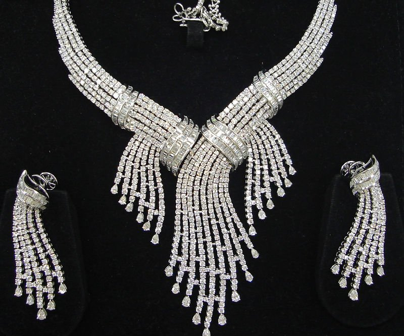 Latest Diamond Necklace designs