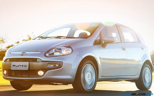 Fiat Punto Essence 1.6 16V 2013 - prata solaris