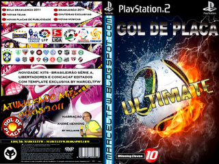 Ficou pronto o novo patch WE10 Gol de Placa Ultimate.