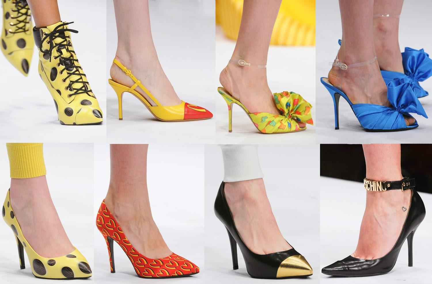 Moschino AW 2014 shoes