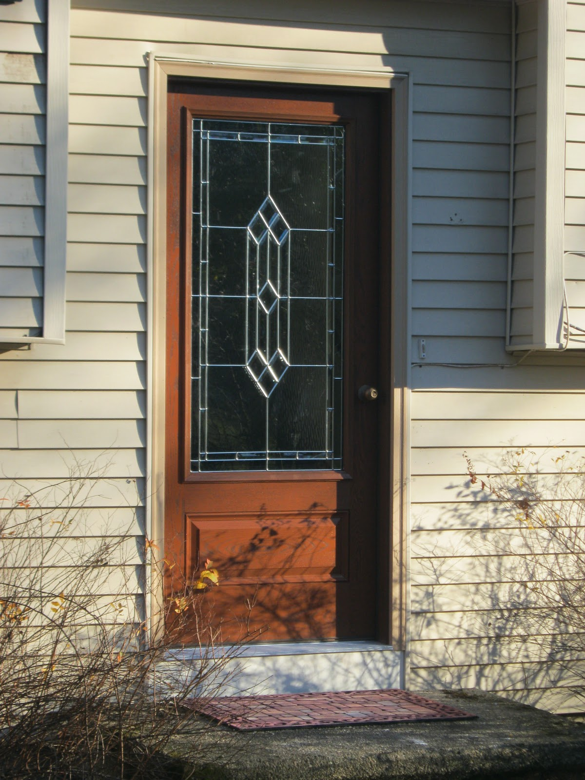 Around the house should i choose a fiberglass entry door - Paint or stain fiberglass exterior doors concept ...