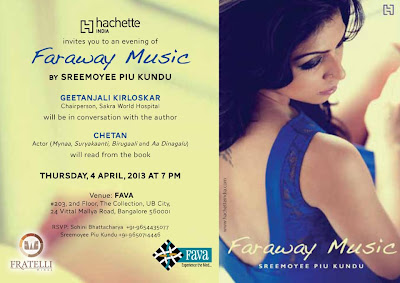 Faraway Music :: Book Launch, Bangalore