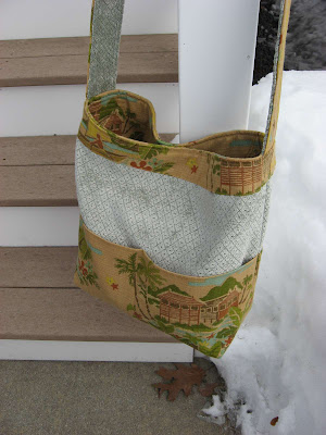Custom Tote/Library Bag for Anne