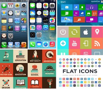flat ui design