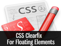 css clearfix for floating elements