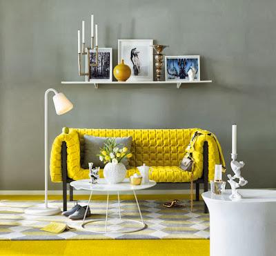Decoração em Amarelo