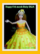 Princess Barbie Cakes for Baby Dija