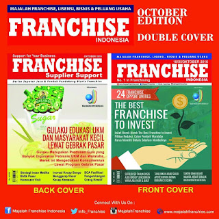 """MAJALAH FRANCHISE INDONESIA """"The Leading Franchise & Business Information in Indonesia"""""""