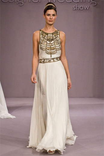 Grecian wedding dresses for Grecian goddess wedding dresses